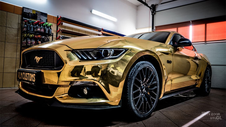 Ford Mustang GT 5.0 by WLM Customs