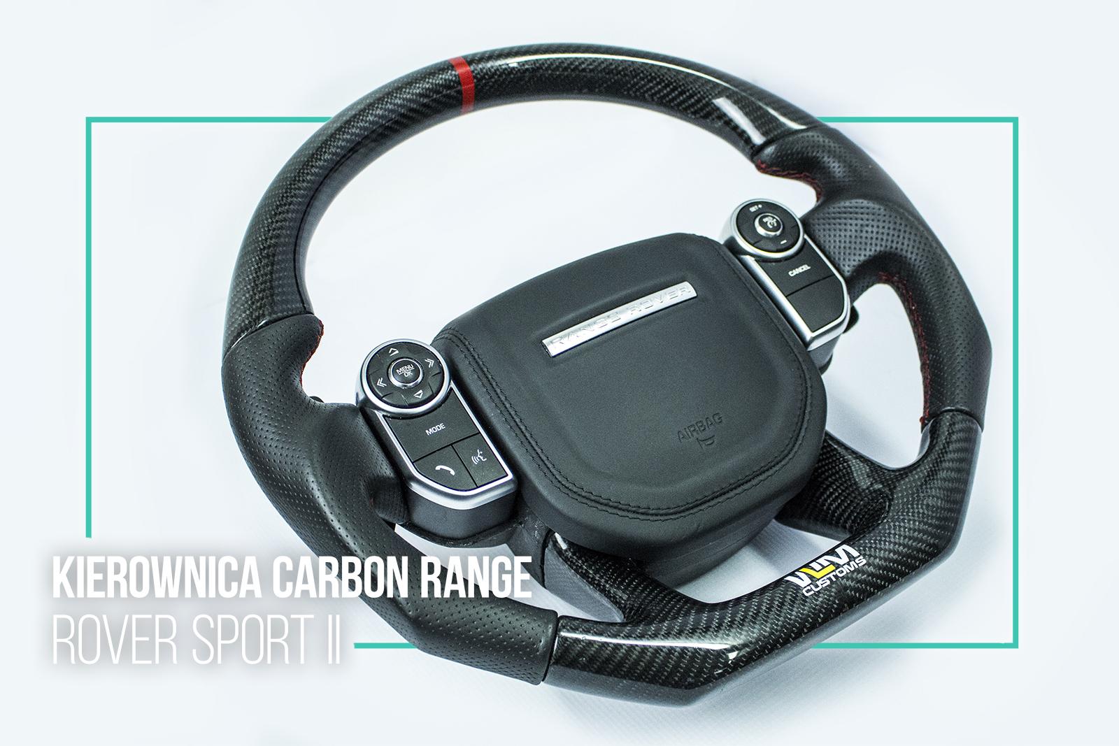 Kierownica Carbon Range Rover Sport II by WLM Customs