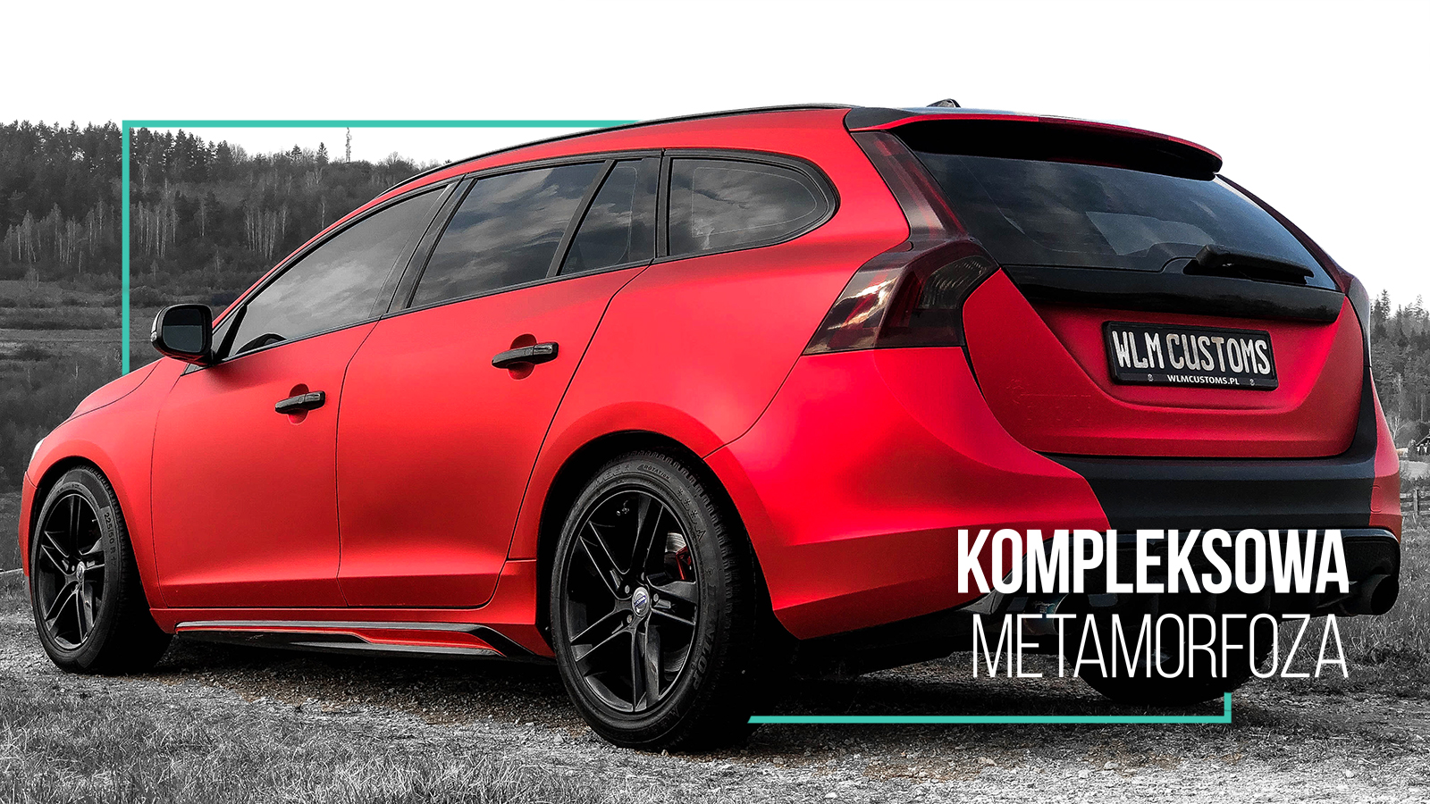 Volvo V60 R-Design - Kompleksowa metamorfoza by WLM Customs