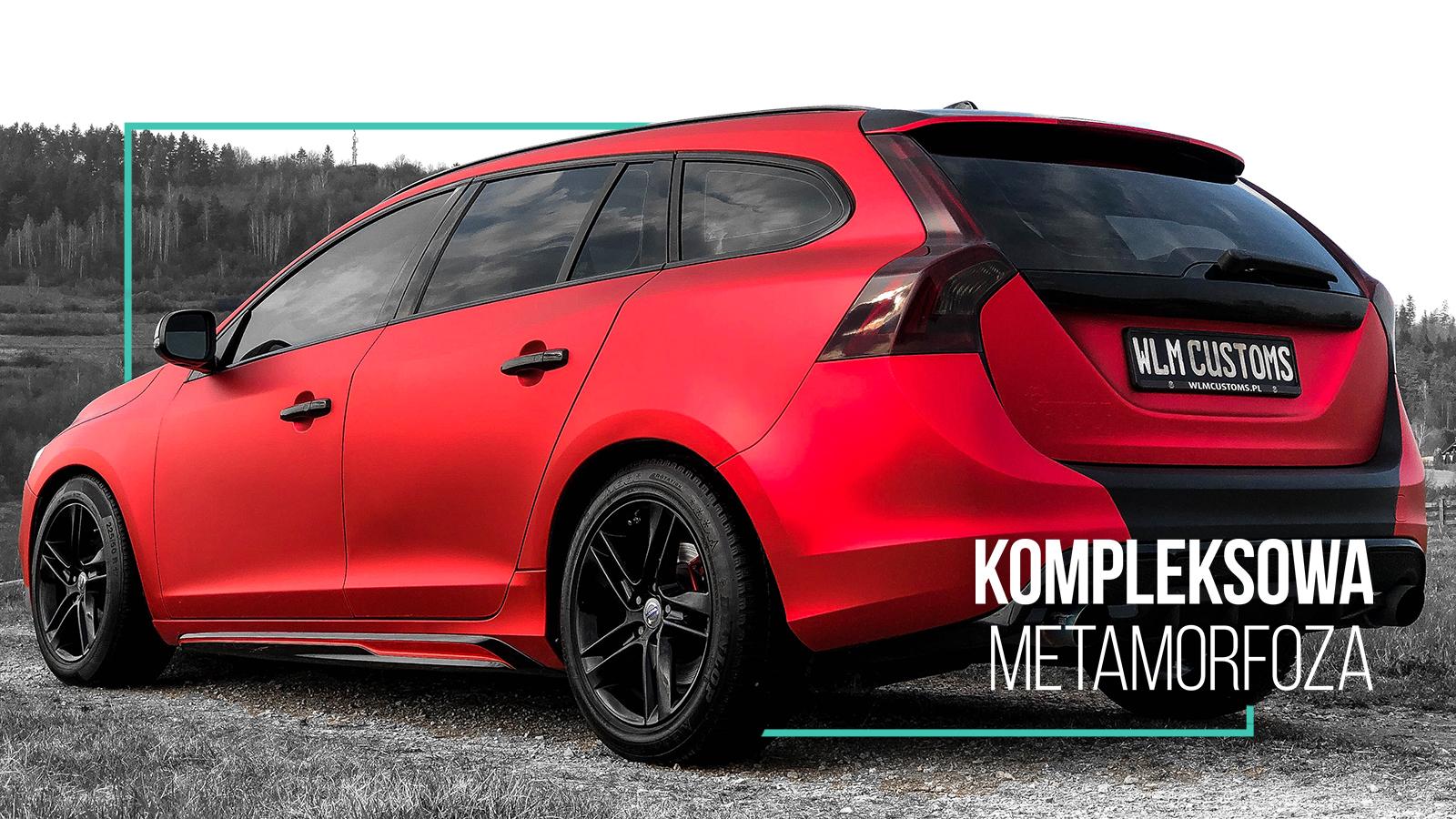 Volvo V60 R-Design - Kompleksowa metamorfoza