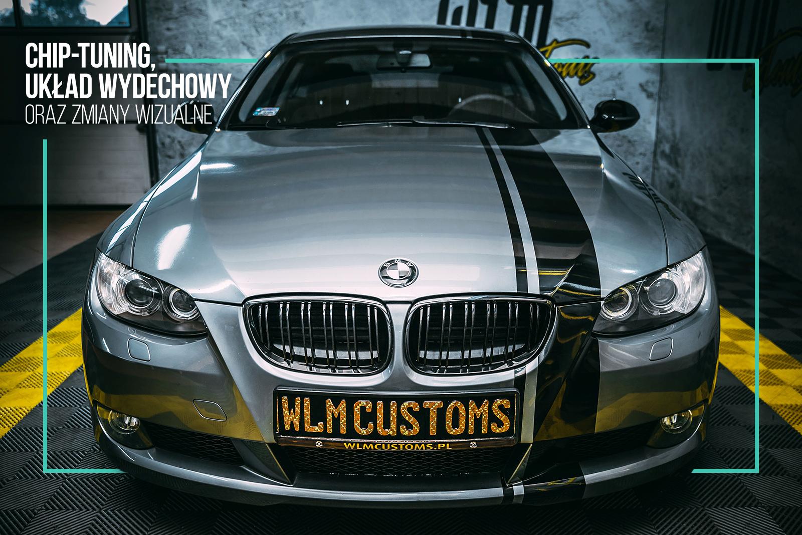 BMW 3 E92 - Chip tuning oraz kompleksowa przemiana by WLM Customs