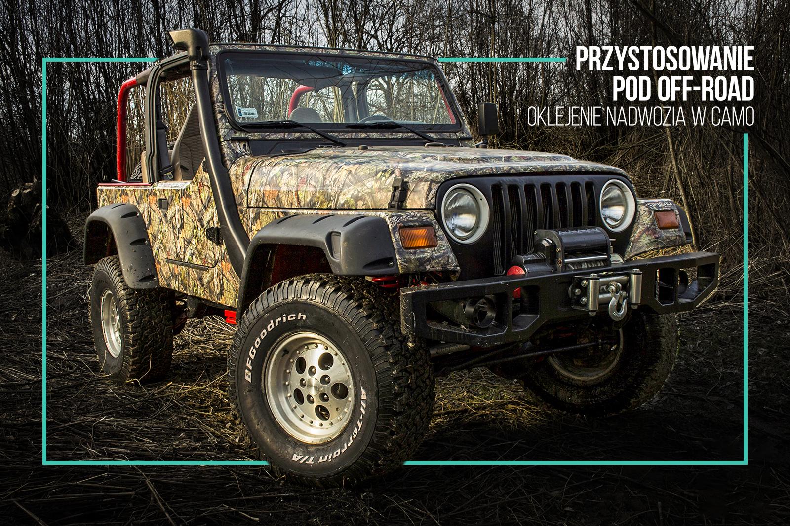 Jeep Wrangler TJ - tuning wizualny oraz mechaniczny