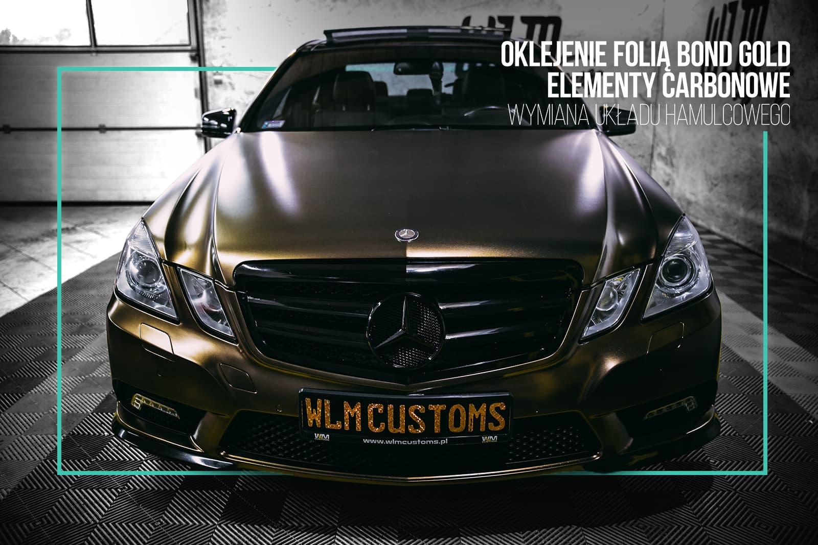 Niemiecki James Bond - Mercedes-Benz E-Class W212 by WLM Customs