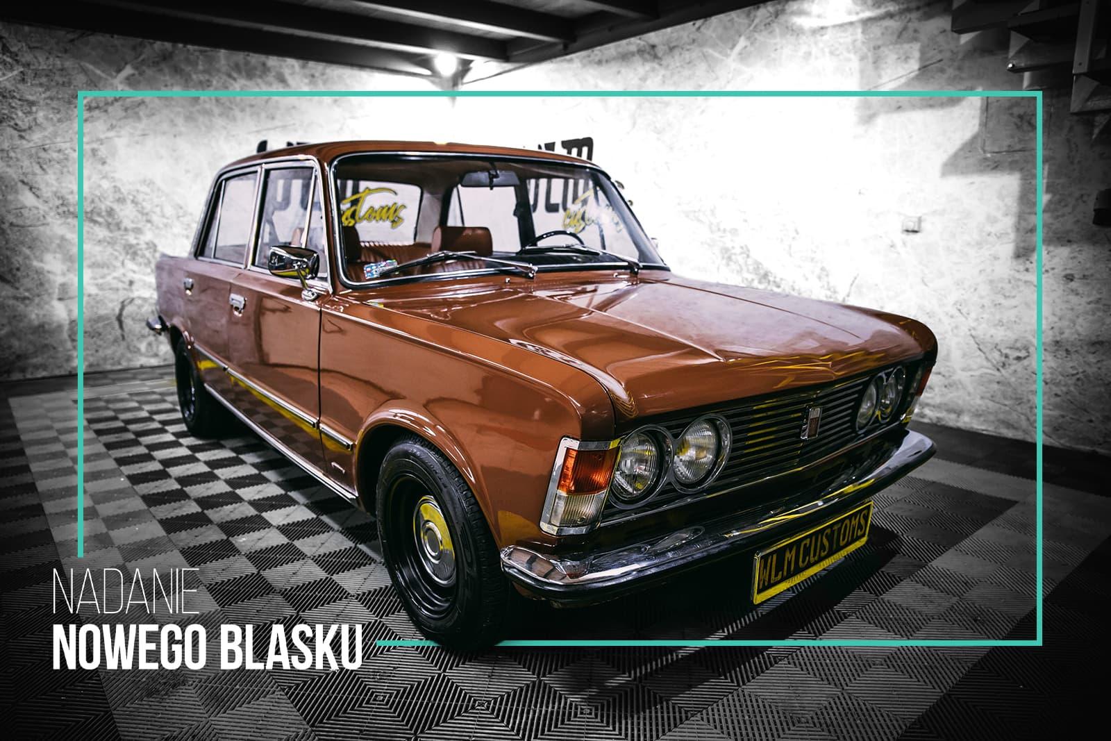 Nasz Polski celebryta - Fiat 125p by WLM Customs