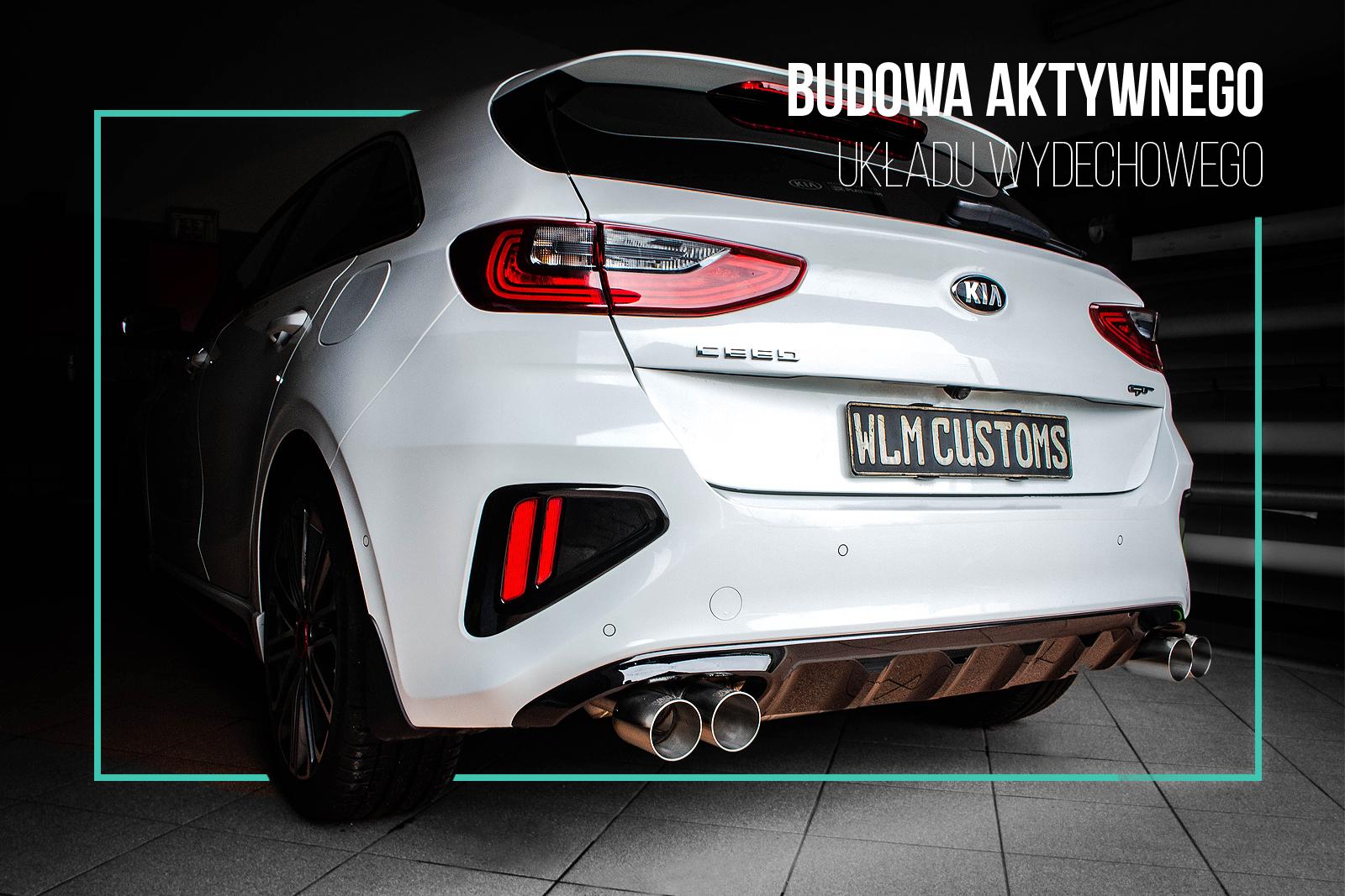 Kia Ceed GT 1.6 turbo - Aktywny układ wydechowy by WLM Customs