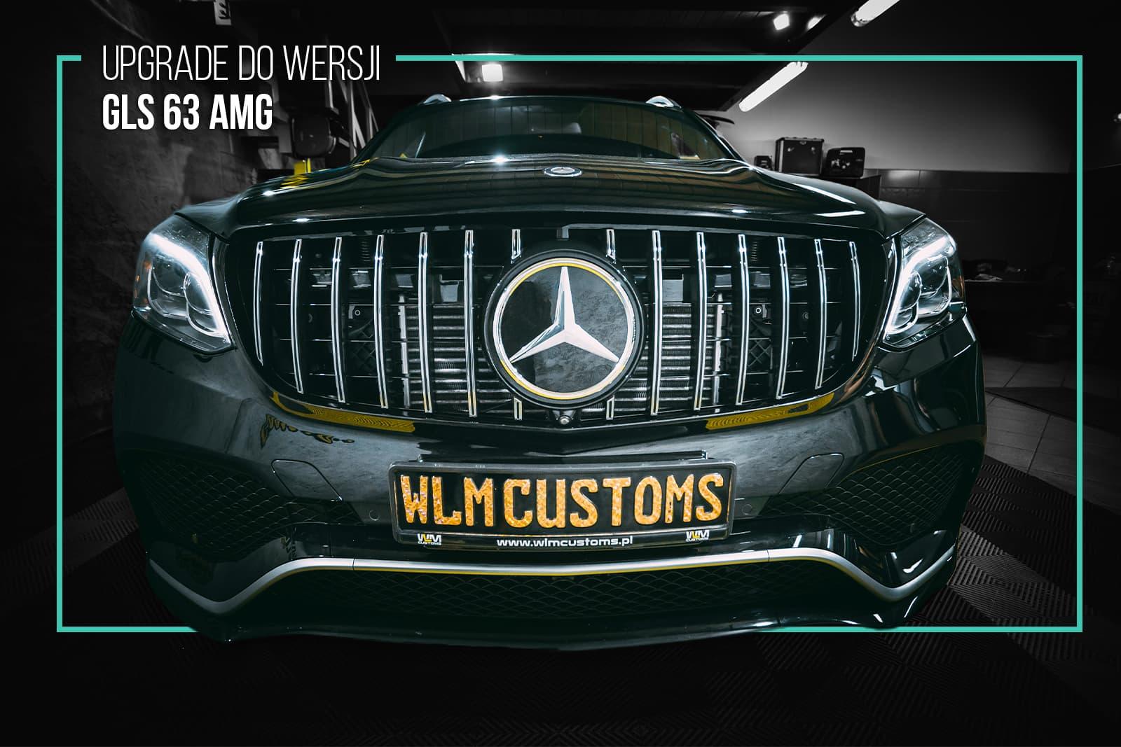 Bez gwiazdy nie ma jazdy! Czyli Mercedes Benz GL x166 by WLM Customs