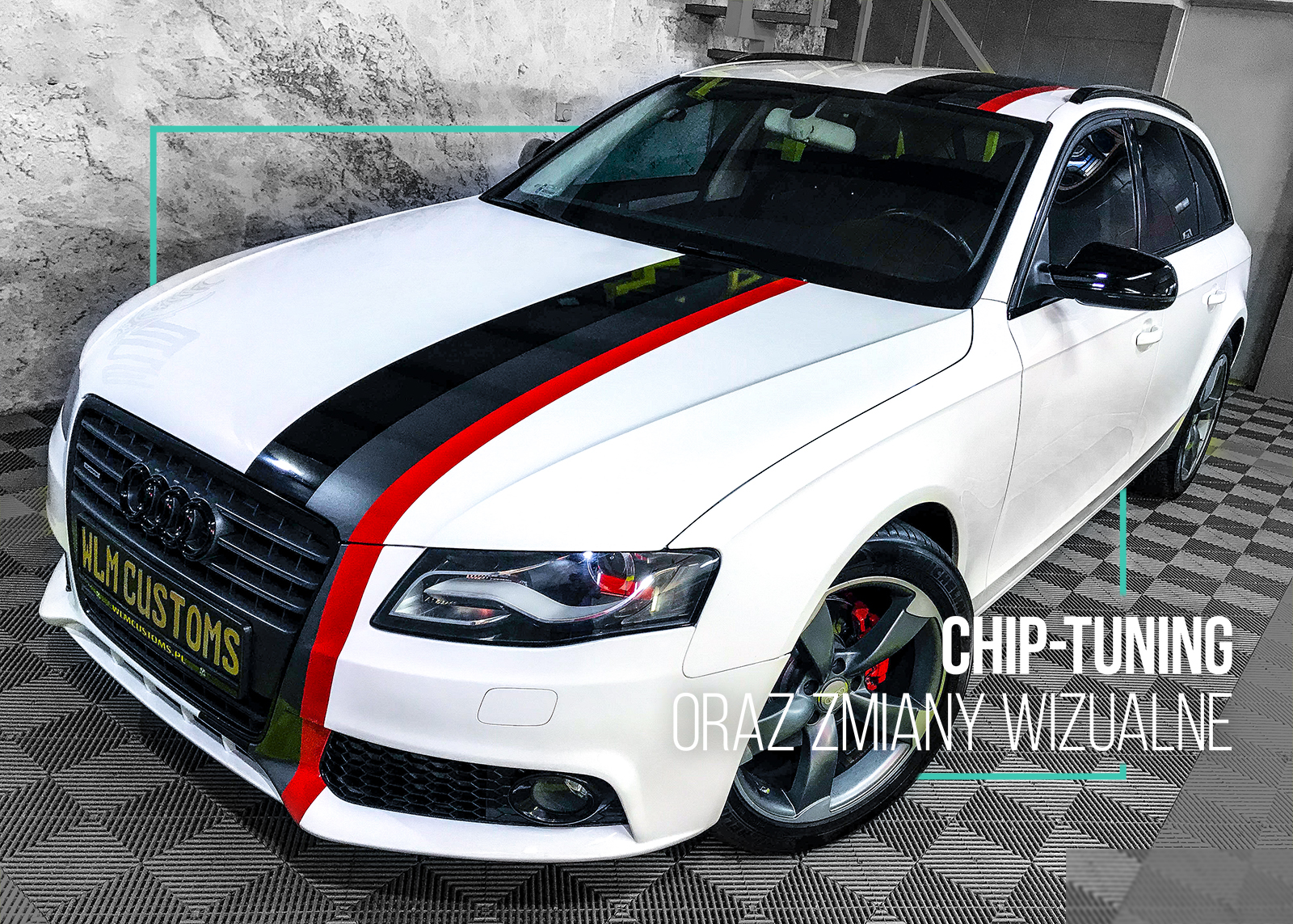 Audi A4 B8 - Chip Tuning i pasy S-Line by WLM Customs